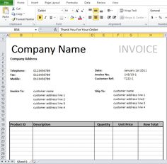 invoice format for travel agency
