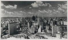 1958 - Visão da região central da cidade.