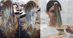 Fantástico! Corte o seu cabelo como uma profissional, em casa e sem gastar grana! - # #cortarcabelo