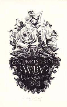 ex libris Maarten de Jong