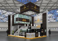 BryanskSpirit exhibition stand on Behance