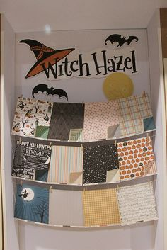 """October Afternoon's """"Witch Hazel"""" CHA Summer 2012 by Shopping Diva, via Flickr"""