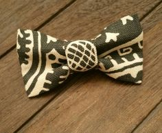 Tribal/Aztec looking boys clip on bowtie!  Hey, I found this really awesome Etsy listing at https://www.etsy.com/listing/241994287/0-2t-tribal-graycanvas-clip-on-bowtie