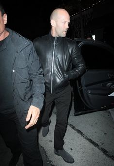 Jason Statham Photos Photos - Celebrities dine out at Craig's restaurant in West Hollywood, California on April 17, 2017. - Celebs Enjoy a Night Out at Craig's