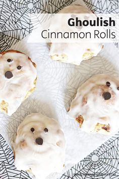 Surprise your family this Halloween with the perfect brunch recipe. These Ghoulish Cinnamon Roll Ghosts are made easy thanks to pre-made dough and icing. This gooey breakfast dish is so good; your family will agree that it's impossible to have just one! Keep Bounty Paper Towels on hand to clean-up sticky fingers.