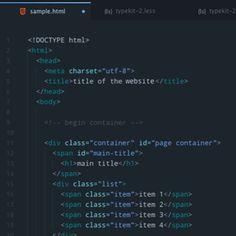City Lights – Suite de themes para Atom y Visual Code Studio, esta semana en SiloMag https://www.silocreativo.com/silomag-26/