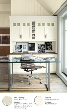 Paint Ideas And Inspiration. Paint Color SchemesPaint ColoursHome Office ...