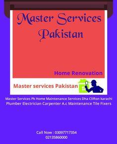 Pakistan Home, Ac Maintenance, Home Renovation, Facebook