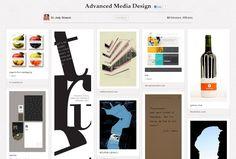 מרצה שאוספת ומציגה עיצובים לסטודנטים    Northwest Missouri State University - Jody Strauch, an assistant professor at the school, uses boards to showcase examples of good design work to students.
