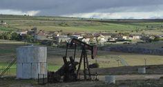 Rechazo en Burgos al empleo de la fractura hidráulica. En la foto el pueblo de Ayoluengo de la Lora.
