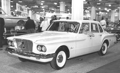 1960 Chicago Auto Show -- Plymouth Valiant display