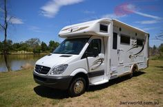 Check out the Sunliner Holiday G59 Motorhome at Albury Wodonga RV World