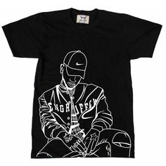 Bryson Tiller pen griffey trapsoul Tee (Unisex) ($18) ❤ liked on Polyvore featuring tops, t-shirts, unisex t shirts, unisex tops and unisex tees