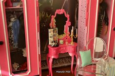 ¿Es mucho rosa?...¡naaa!