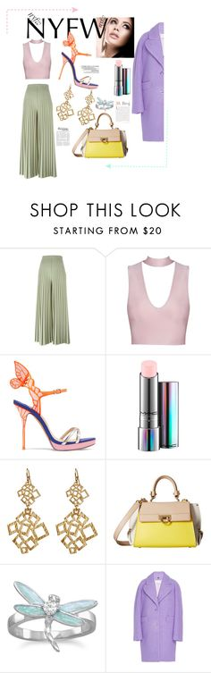 """What To Pack: NYFW"" by arabellie ❤ liked on Polyvore featuring La Femme, Givenchy, Anja, Sophia Webster, MAC Cosmetics, Amrita Singh, Salvatore Ferragamo, BillyTheTree, Carven and NYFW"