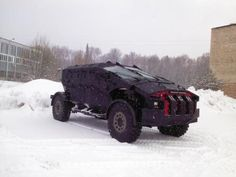 Russian Armoured vehicle