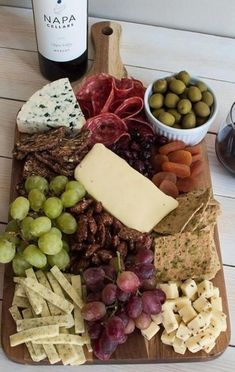 60+ trendy Ideas for appetizers cheese plate antipasto platter #appetizers #cheese