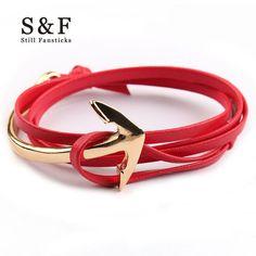 Miansai Anchor Bracelet men jewelry Leather bracelets for women charm bijoux Rope bracelete mens friendship bracciali homme 2017 - 2 men jewelry