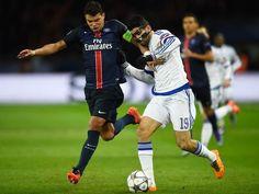 Paris Saint-Germain defender Thiago Silva full of praise for Manchester City #ChampionsLeague #ParisSaintGermain #Football
