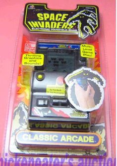 MGA Classic Arcade - Space Invaders - new in package (rarest of the 6 titles)