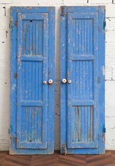Vintage decorative doors