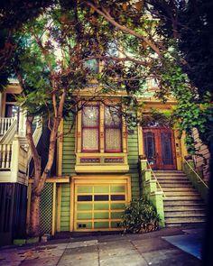 San Francisco Fall Fine Art Photography, The Neighbourhood, San Francisco, Exterior, Houses, Cabin, America, House Styles, Fall