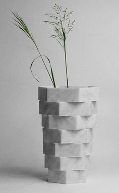 Little Gerla vases (made from rejected marble ) | Paolo Ulian and Moreno Ratti. $1,100