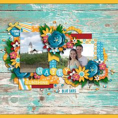 CTKim - Fun in the sun by Digilicious Design, Two Tiny Turtles & Digital Scrapbook Ingredients