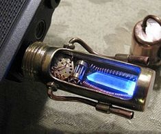 Steampunk Glowing USB Drive