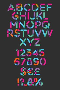Multicolore Free Fonts - #free #fonts