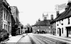 Photo of Farnham, Downing Street 1904 from Francis Frith Farnham Surrey, England, Street View, Landscape, History, Image, Collection, Scenery, Historia