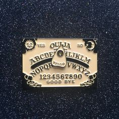 Ouija Pin at Memento Mori Goods