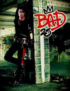 BAD 25 #MichaelJackson -Look at mah bebe bein all badass ♡♡