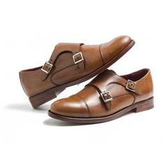 Monk Strap June for women in brown leather. Handmade in Spain by Beatnik Shoes. Blake stitched. Calfskin lining. Genuine leather sole. 149,9 €. Free European home delivery. Shipping cost worldwide by UPS for 50 €.