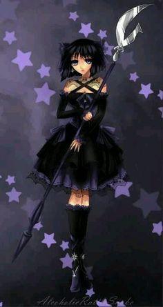 Gothic Anime Girl  #Manga #Illustration #Anime