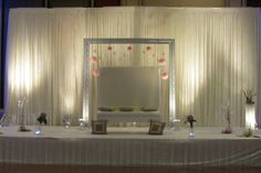 Modern Mandap Detail - Regency Ballroom