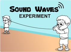 Sound Waves Experiment Video - more great experiments here
