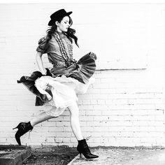 #TBT love this shoot that I did with @seaofshoes . Those Rochas booties are the best!!