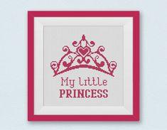 BOGO FREE Crown Cross Stitch Pattern My little princess