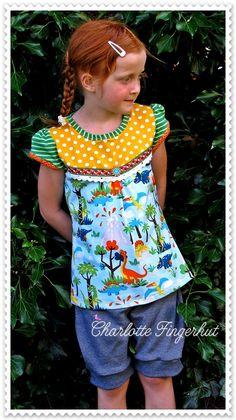 Schnitt Shirt: Klein.Fanö Schnittreif/Farbenmix Schnitt Hose: Freebook Marina Stoff Shirt+Hose: Lillestoff