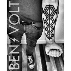 WWW.BENVOLTTATTOO.COM - #Family. #Abstract #geometric representation...