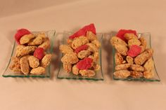 Rose Sugared Nuts. Just a small amount of rose water added to nuts will give the nuts  wonderful flavor and aroma. Visit our blog at: http://vcomidablog.blogspot.com/ for the recipe. Enjoy!