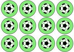 Printable Soccer Cupcake Toppers - Printable Treats