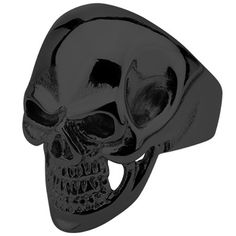 Metal Meltdown Metal Mania Skull Ring