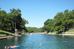 Barton Springs and Hamilton Pool in Austin, TX | 13 Places Where Southerners Don't Want You To Vacation