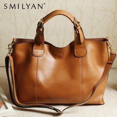 100% genuine leather high quality 2013 new arrival fashion vintage women leather handbag shoulder messenger cross body big bag $174.98