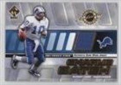 Brought to you by Avarsha.com: <div><div>2001 Private Stock Game-Worn Gear #55 - Charlie Batch</div><ul><li>Sport: Football</li><li>Great for any Charlie Batch fan</li><li>This is a collectible trading card.</li></ul><div>Sport: Football</div></div>