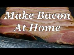 237 best video curing etc images in 2019 meat bacon nation rh pinterest com