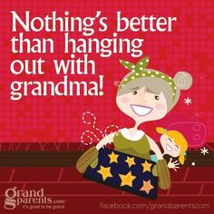 NOTHING'S BETTER THAN HANGING OUT WITH GRANDMA!  Sure hope my grandsons feel this way, because it's a blast to be with them.  Brayden & Lincoln