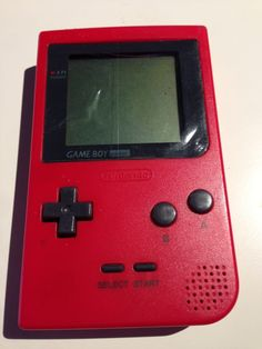 Console GameBoy Pocket Rouge/Red (1996)